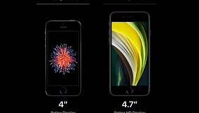 Image result for How big is the iPhone SE?. Size: 282 x 160. Source: www.androidauthority.com