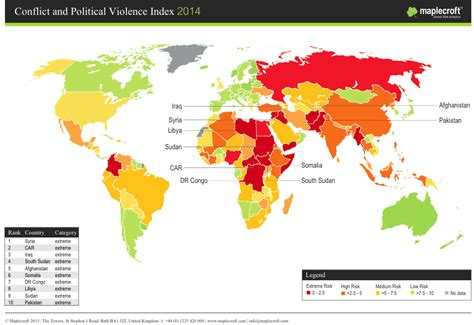 Countries Led By by Resource Rich Countries Lead Global Conflict And Political