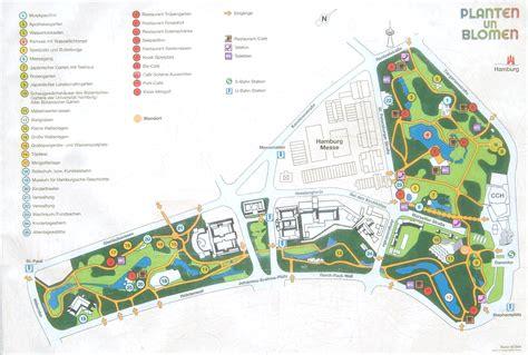 Englischer Garten München Karte Pdf by Planten Un Blomen
