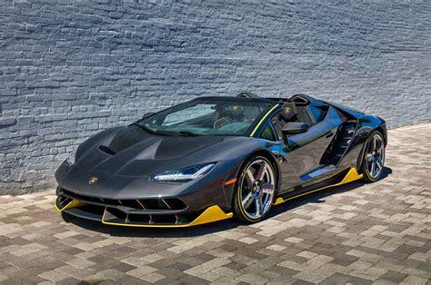 Lamborghini California World S Lamborghini Centenario Roadster Delivered In