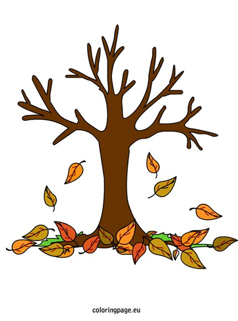 Fall Trees Coloring Pages Fall Trees Falling Leaves In Fall Tree Coloring Pages