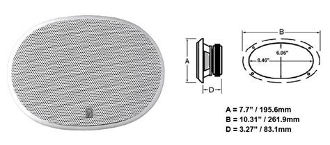6x9 speaker template pin 6x9 speaker cut out template on