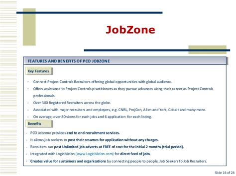 Job Zone Resume by Pco Full Presentation Mar 2013