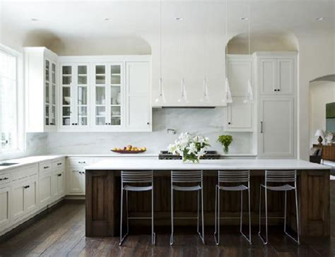 Why White Kitchen Cabinets Are The Right Choice The White Kitchen Cabinets With Black Island