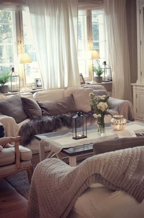 neutral color pallet for living room that looks warm cozy