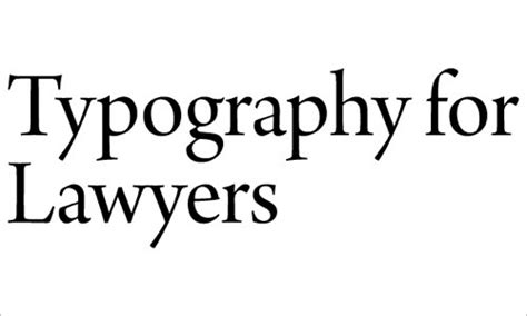typography for lawyers web typography educational resources tools and