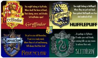 personalities of harry potter houses chronicles of a