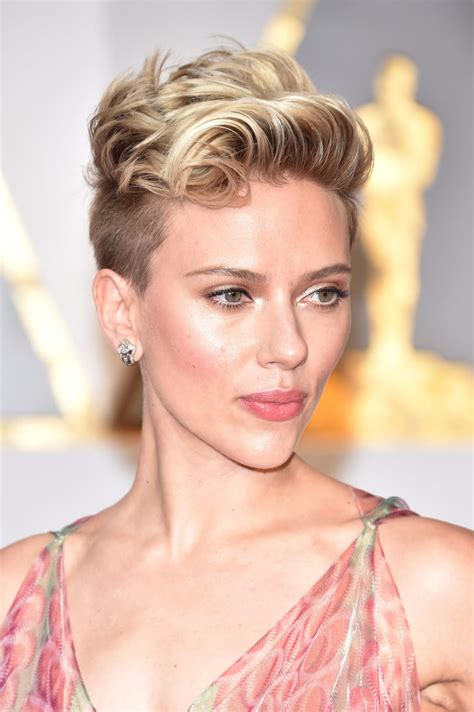 celebrity short pixie haircuts at 2017 oscars popsugar