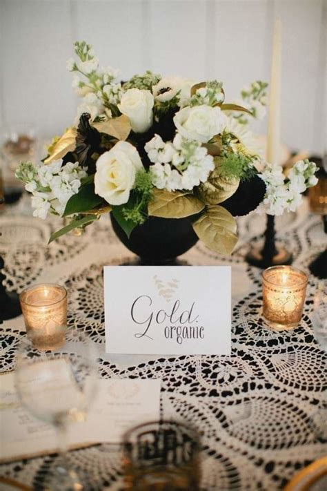 Sprei My Wedding spray painted bouquets centerpieces mywedding