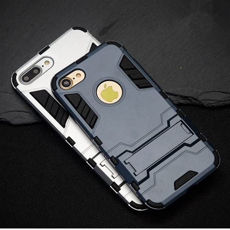 Ironman Casing Hardcase ironman armor hardcase for iphone 7 8 gray