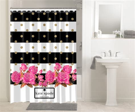 kate spade bathroom rose gold polkadot stripes kate spade new york 1633