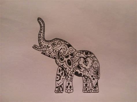 17 mejores ideas sobre tatuajes elefante tribal en
