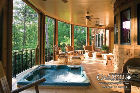 rear porch hot tub ideas for back porch joy studio design gallery