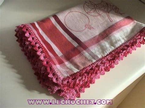 bordure en crochet pour armoire bordures au crochet pour vos torchons de cuisine