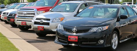 closest toyota toyota certified used vehicles near eau dealer