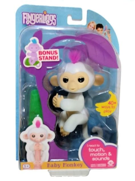 Best Seller Fingerlings Baby Monkey fingerlings interactive baby monkey with bonus stand only 11 60 free shipping