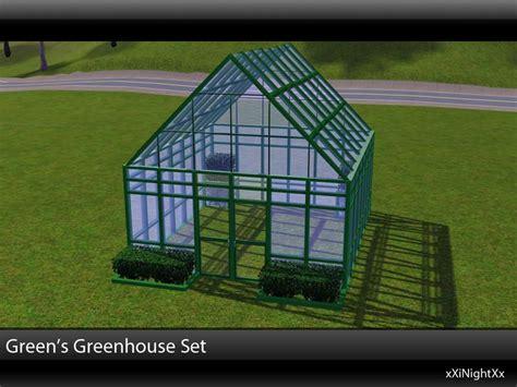 Sims House Ideas Xinightxx S Green S Greenhouse Build Set