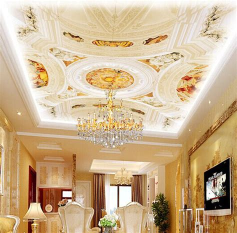 ceiling mural wallpaper 3d ceiling murals images