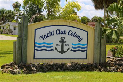boat club fort myers florida yacht club colony north fort myers real estate boating