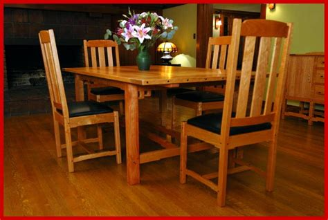 mission style cherry dining room furniture craftsman voorhees craftsman mission oak furniture item