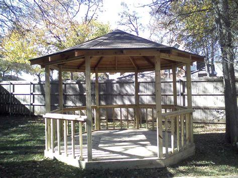 Octagon Patio Gazebo 3e Outdoor Shingled Octagon Gazebo Fences Decks By T