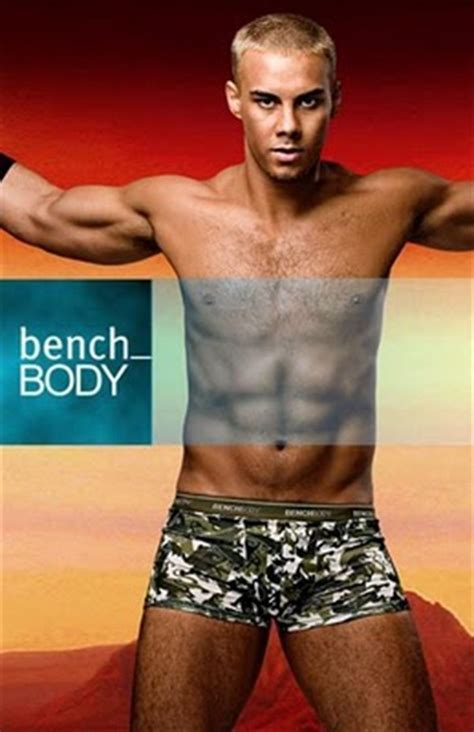 bench body male models bench body launches its new models