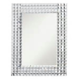 bling bathroom mirrors kichler lighting 78121 bling beveled wall mirror atg stores