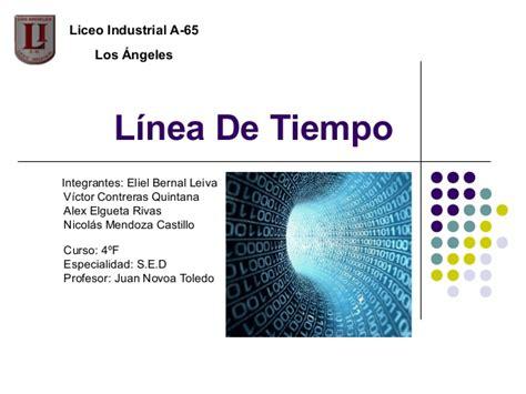 lnea de tiempo web slideshare l 237 nea de tiempo objetos tecnologicos liceo industrial a 65
