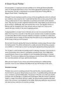 House Painter Cover Letter by Roofing Helper Resume
