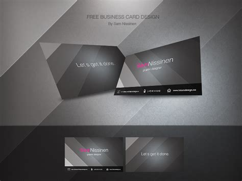 office business card template 2010 free business card template by nisbo on deviantart