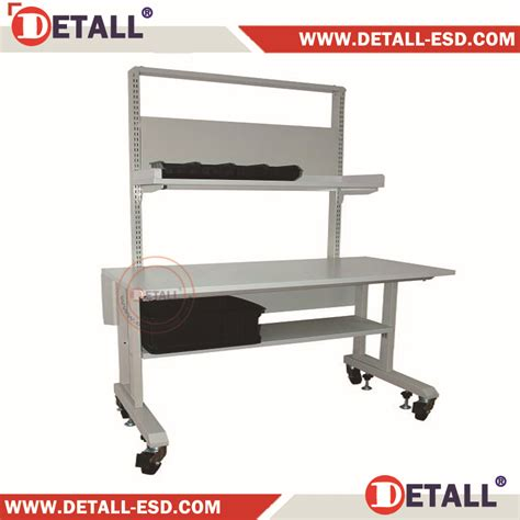 anti static bench anti static modular esd work table with under shelf buy
