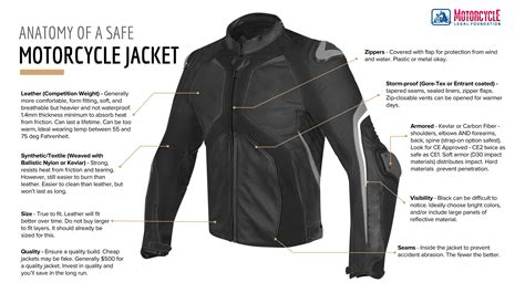 How To Choose The Safest Motorcycle Jacket