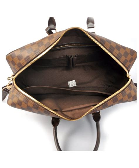 louis vuitton porte documents voyage gm n41122 brown