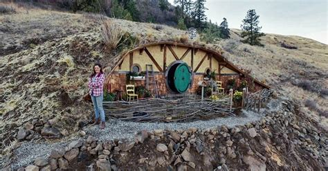 Floor Plans For Tiny Houses by Kristie Wolfe S Hobbit House Village In Washington The