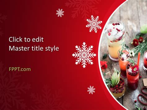 christmas powerpoint template  powerpoint templates