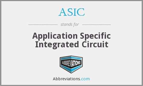 what is application specific integrated circuit asic application specific integrated circuit