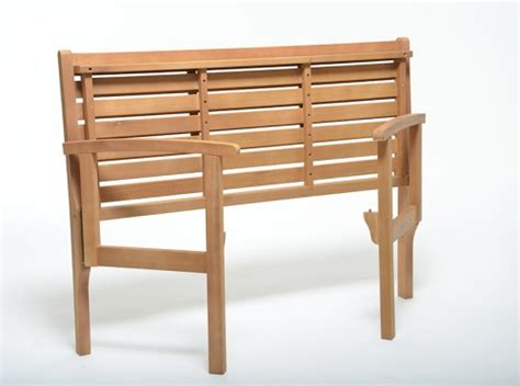 small folding bench outdoor