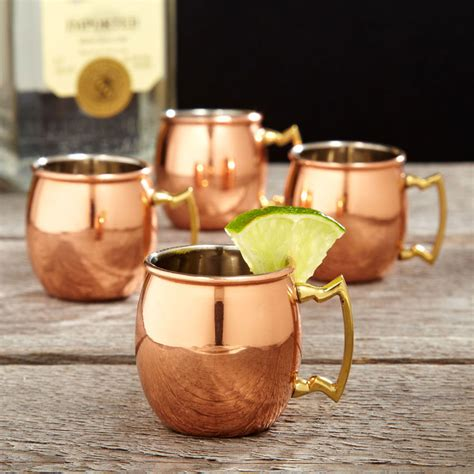Home Decor Gift Catalogs by Copper Moscow Mule Shot Glasses The Green Head