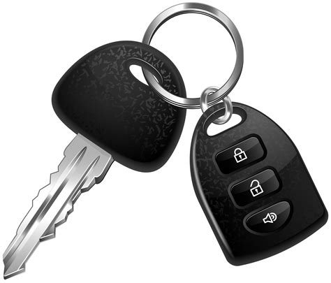 key clipart car