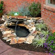 Building A Small Backyard Pond Small Ponds On Pinterest Small Garden Ponds Pond Ideas