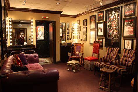 stage dressing room 301 moved permanently