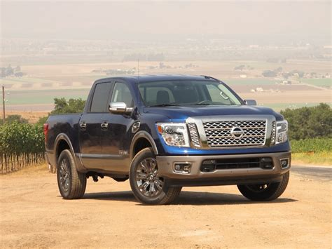Image 2017 Nissan Titan California Press Drive July