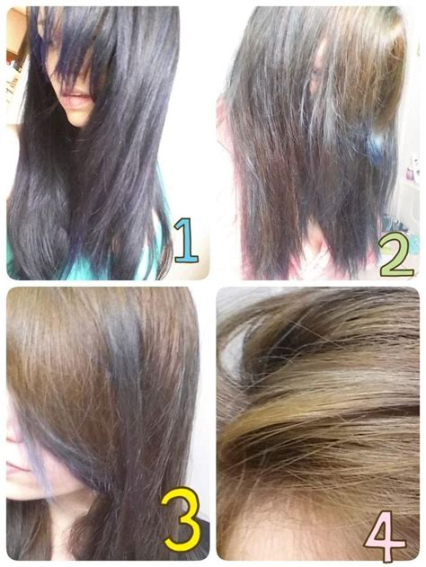 pravana artificial hair color extractor before and after
