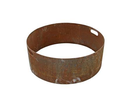 Munich 30 Quot Fire Pit Kit Steel Firepit Ring