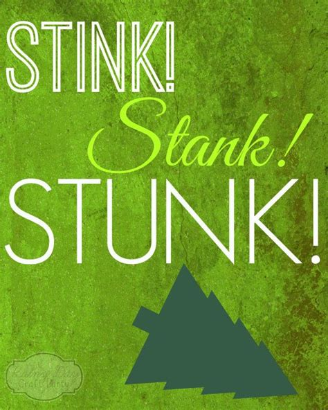 printable grinch poster stink stank stunk the grinch inspired 8x10 poster