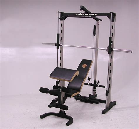 gold s gym utility bench gold s gym xr 38 home gym 1122777 overstock com