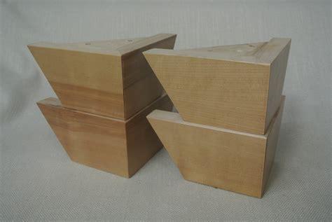 decorative wood cabinet feet wooden sofa feet leg daddy 4 dark finish square tapered