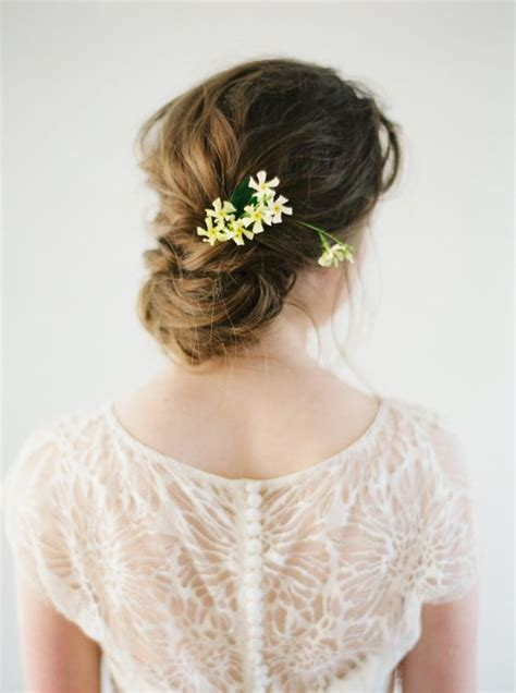 Wedding Hair Updo With Flower by Wedding Hairstyles Updo With Flowers