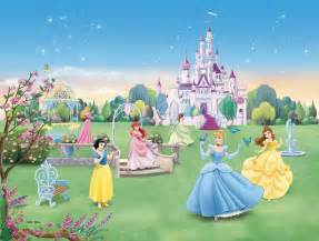 disney princess garden party wall mural wallpaper mural happy tea party wall mural teenagers decor fun decor