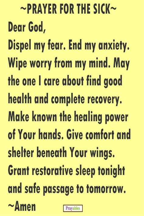 prayer of comfort and healing top 25 best prayer for the sick ideas on pinterest